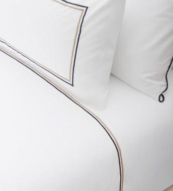 Double Internal Festoon Pillow Cover