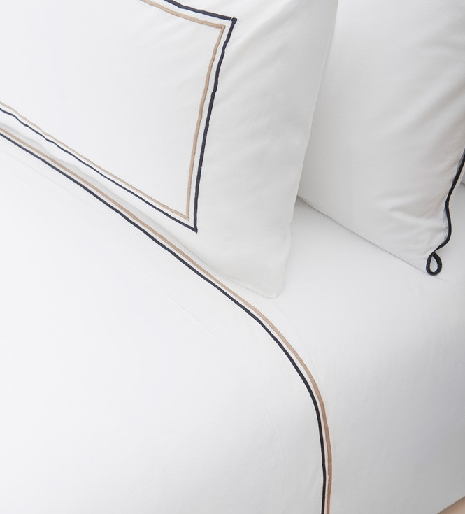 Double internal festoon Pillow cover